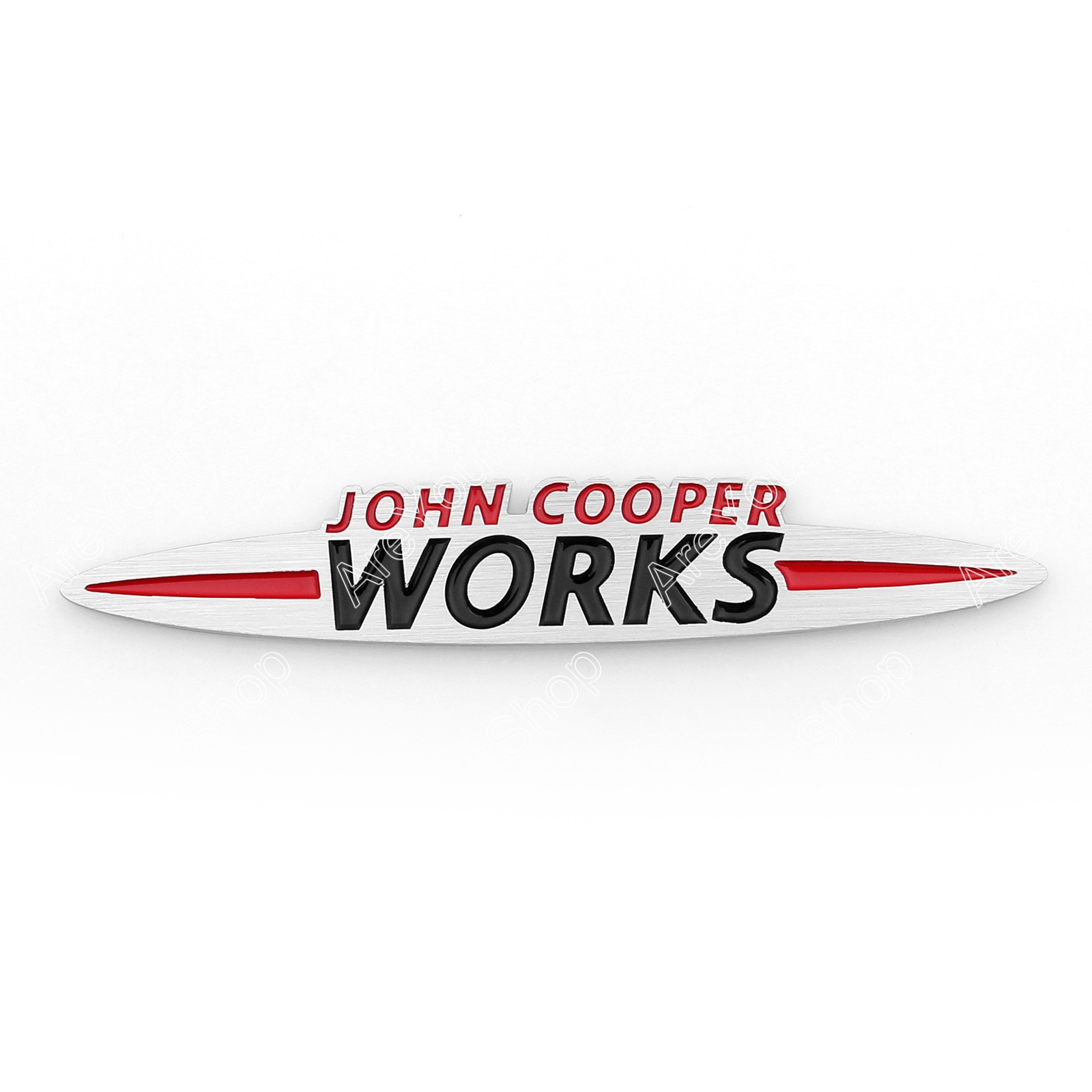 3D-Car-Aluminum-Emblem-Badge-Sticker-Decal-John-Cooper-Works
