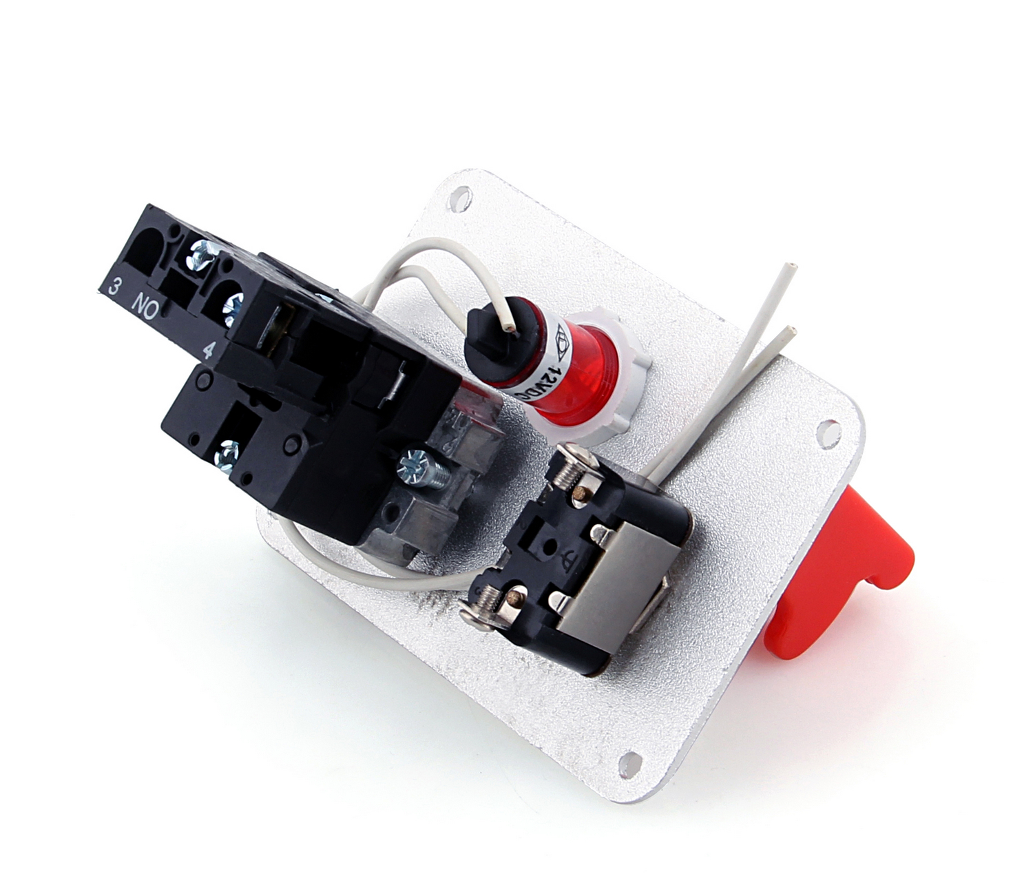 Racing Car 12v Ignition Switch Panel Engine Start Push Button Led Pontoon And Wiring Harness Toggle 3007