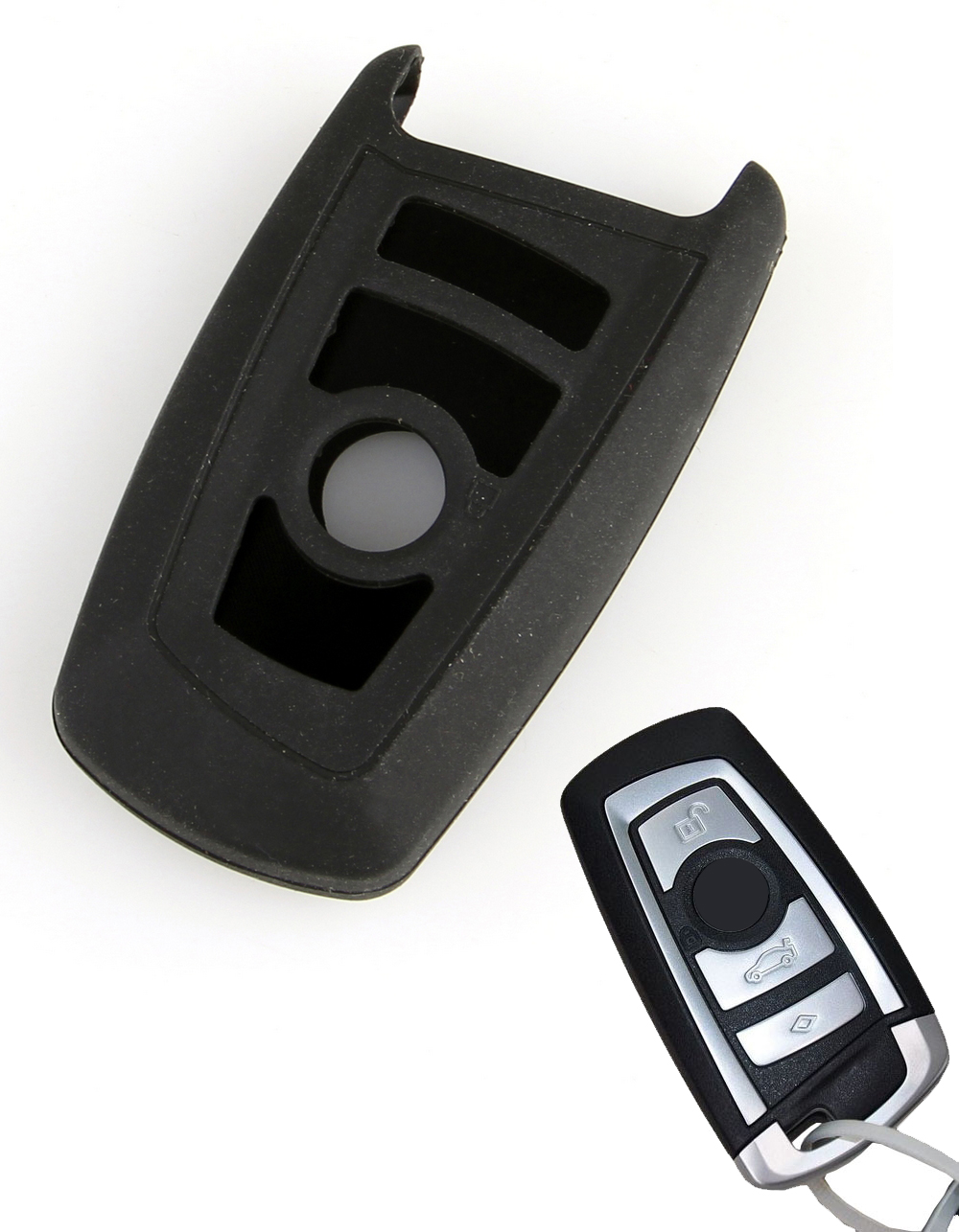 Schlussel Hulle Key Cover Etui Bmw 7 Series 730 745 760 Black On