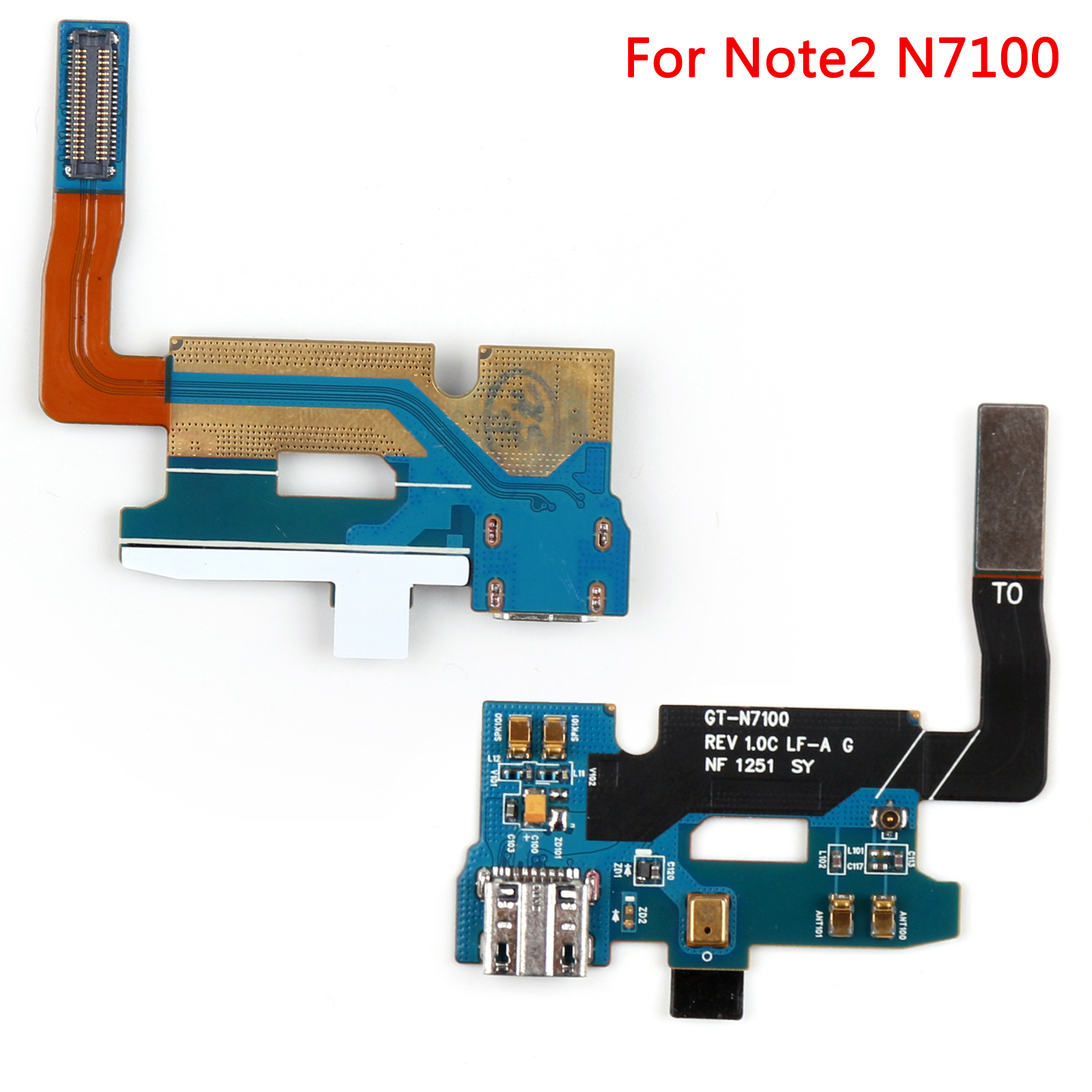 charger charging port connector dock flex cable f samsung galaxy note 2 3 4 mini