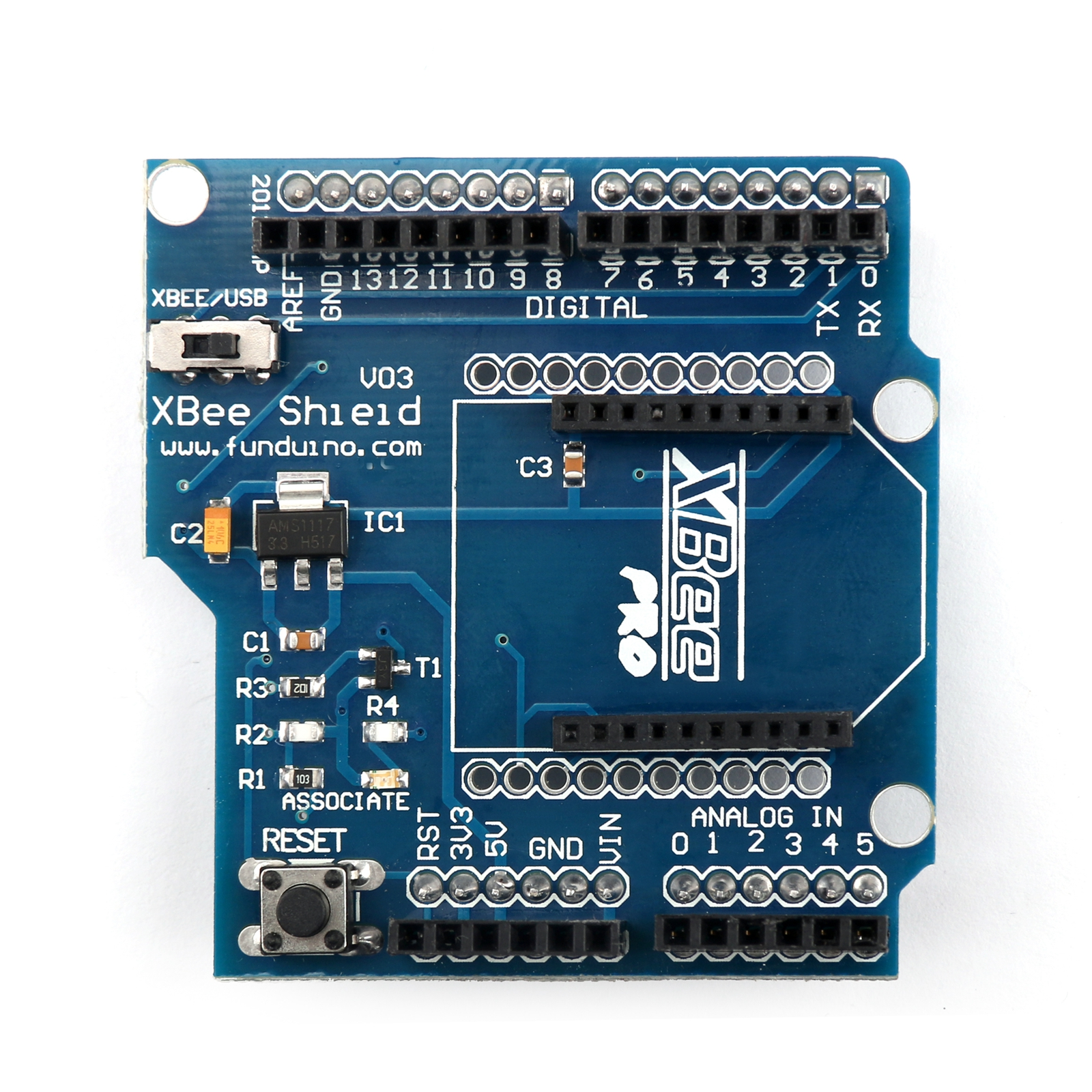 Bluetooth shield v module wireless control for xbee