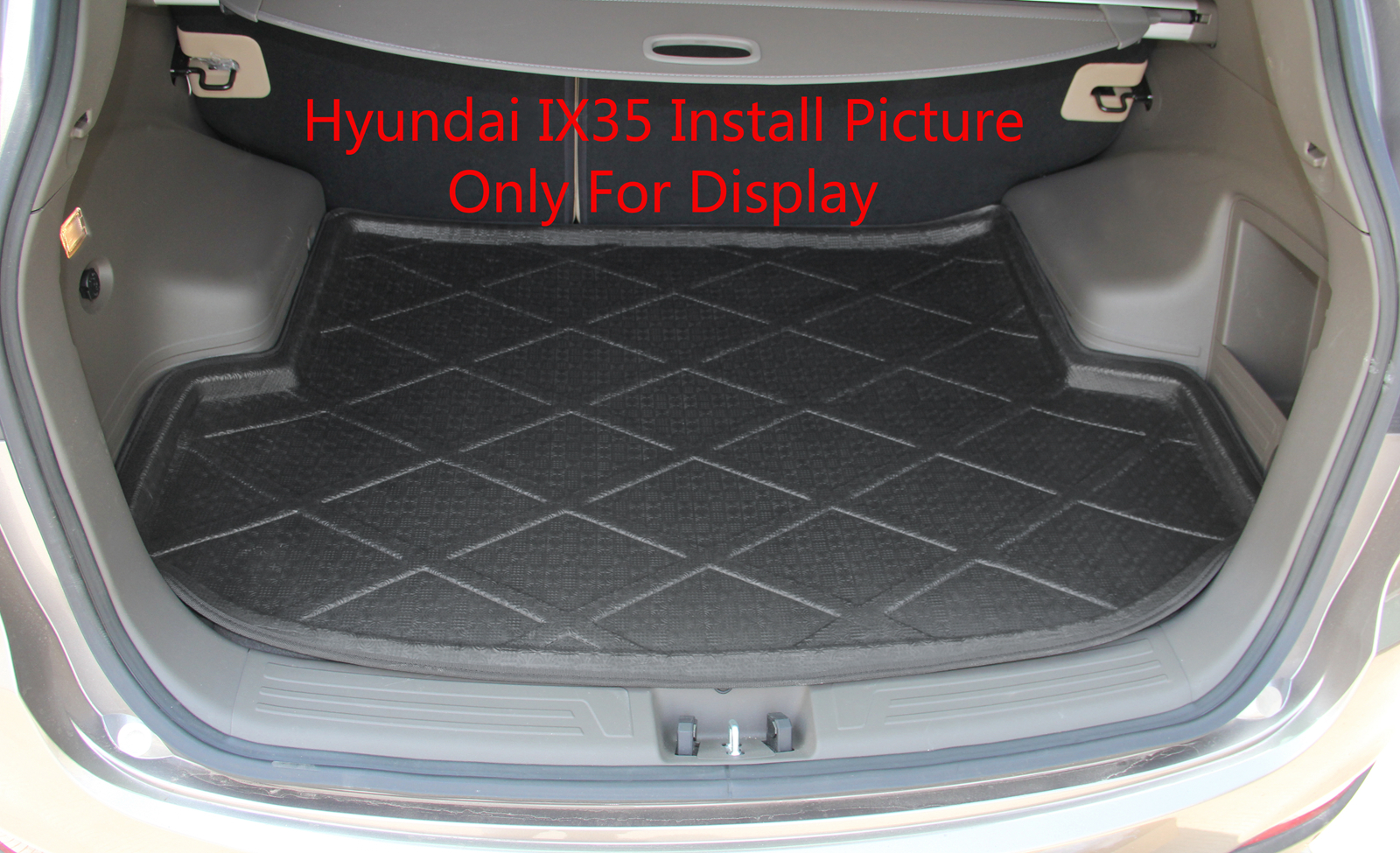boot liner cargo mat tray rear trunk for mazda cx 5 2013 2014 black ebay. Black Bedroom Furniture Sets. Home Design Ideas
