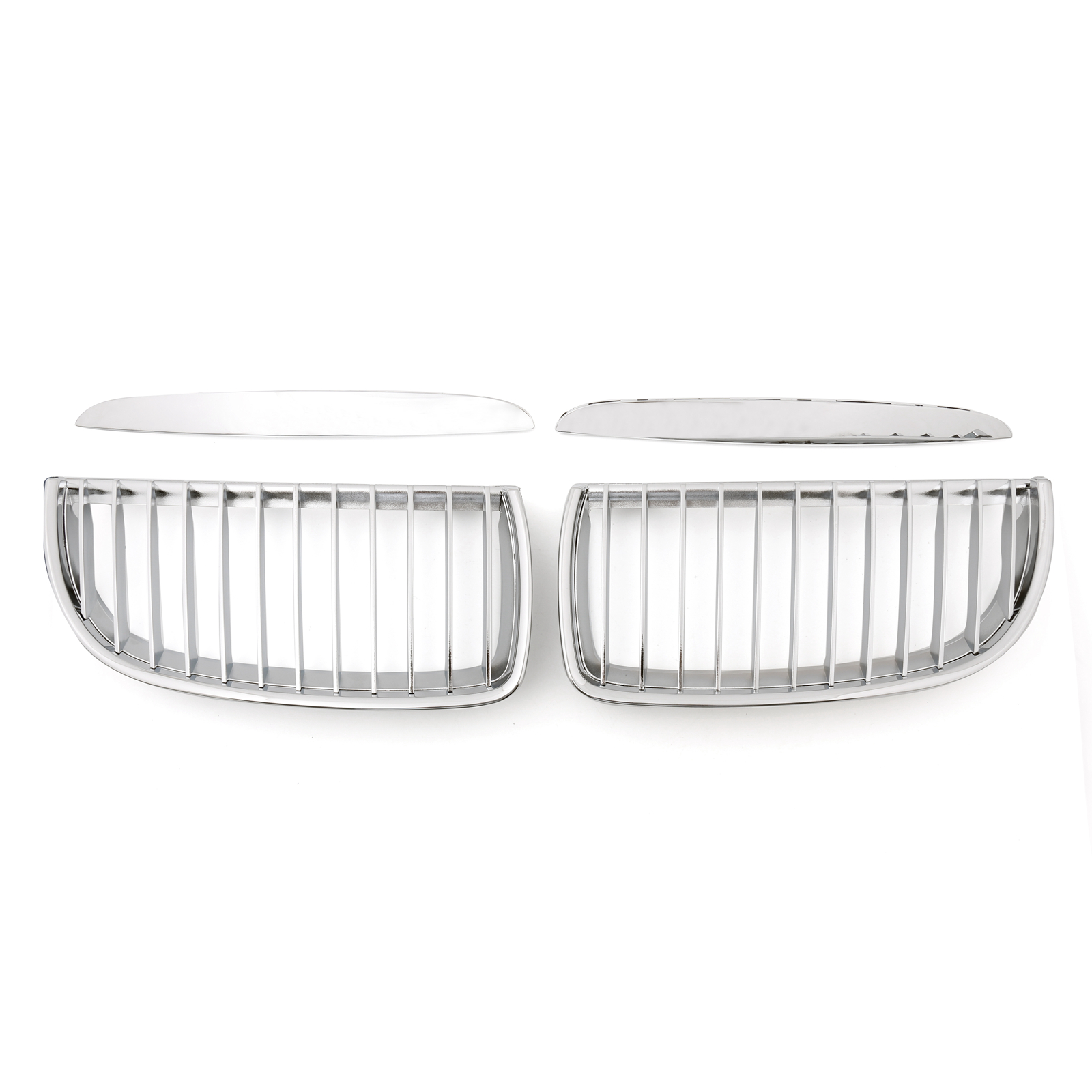 Front Replacement Chrome Kidney Grille For BMW 3 Series