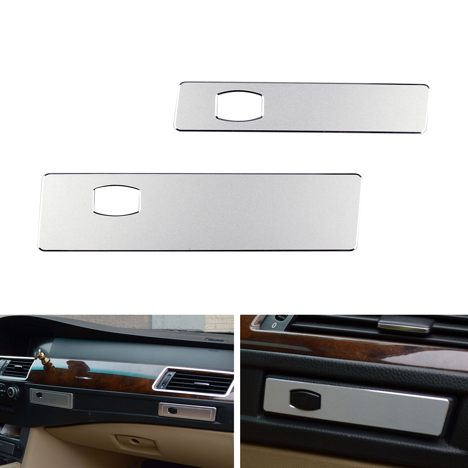 New For BMW E60 5 Series 2005-2010 Side Air Conditioning Outlet Frame Cover Trim