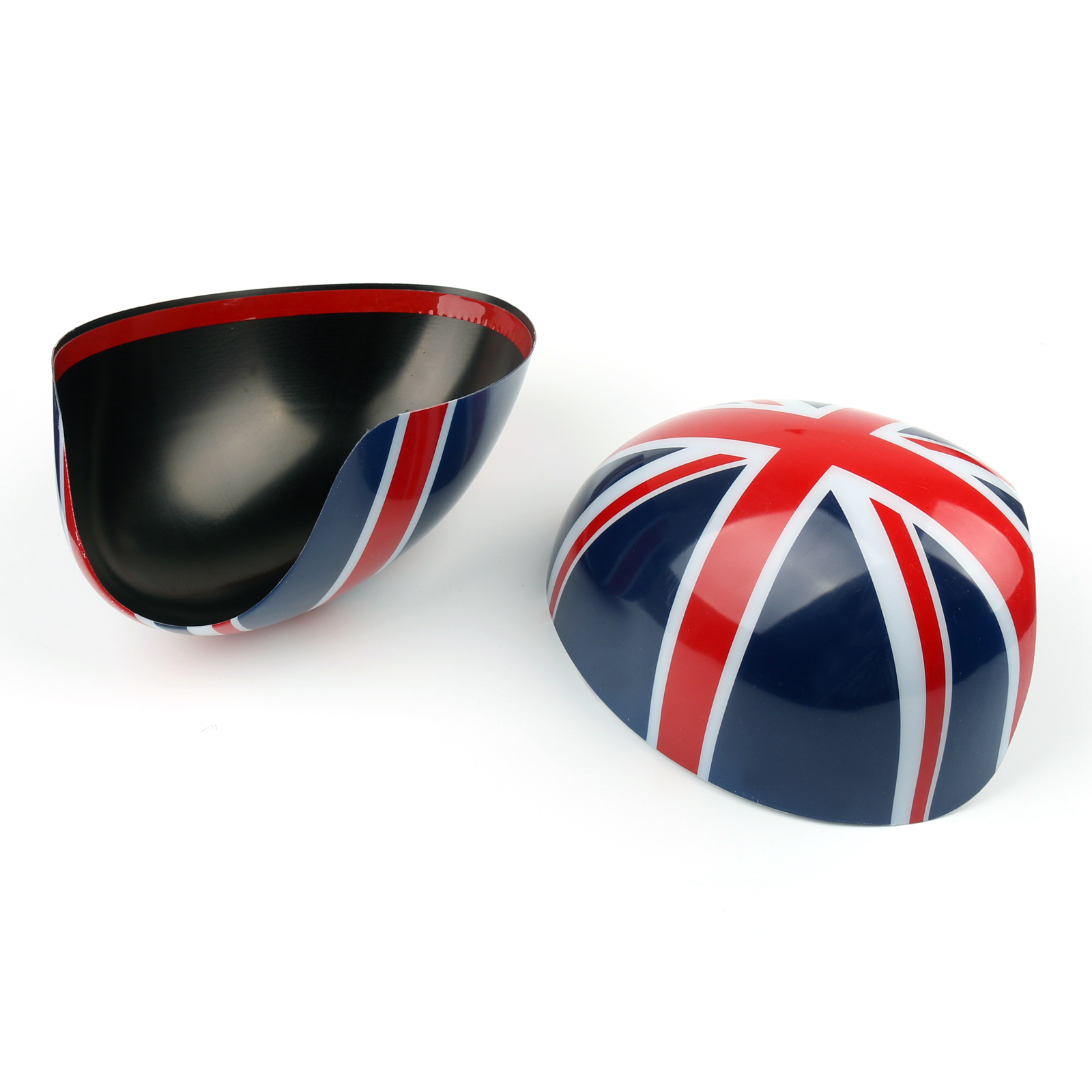 2 x union jack wing mirror covers for mini cooper r55 r56. Black Bedroom Furniture Sets. Home Design Ideas