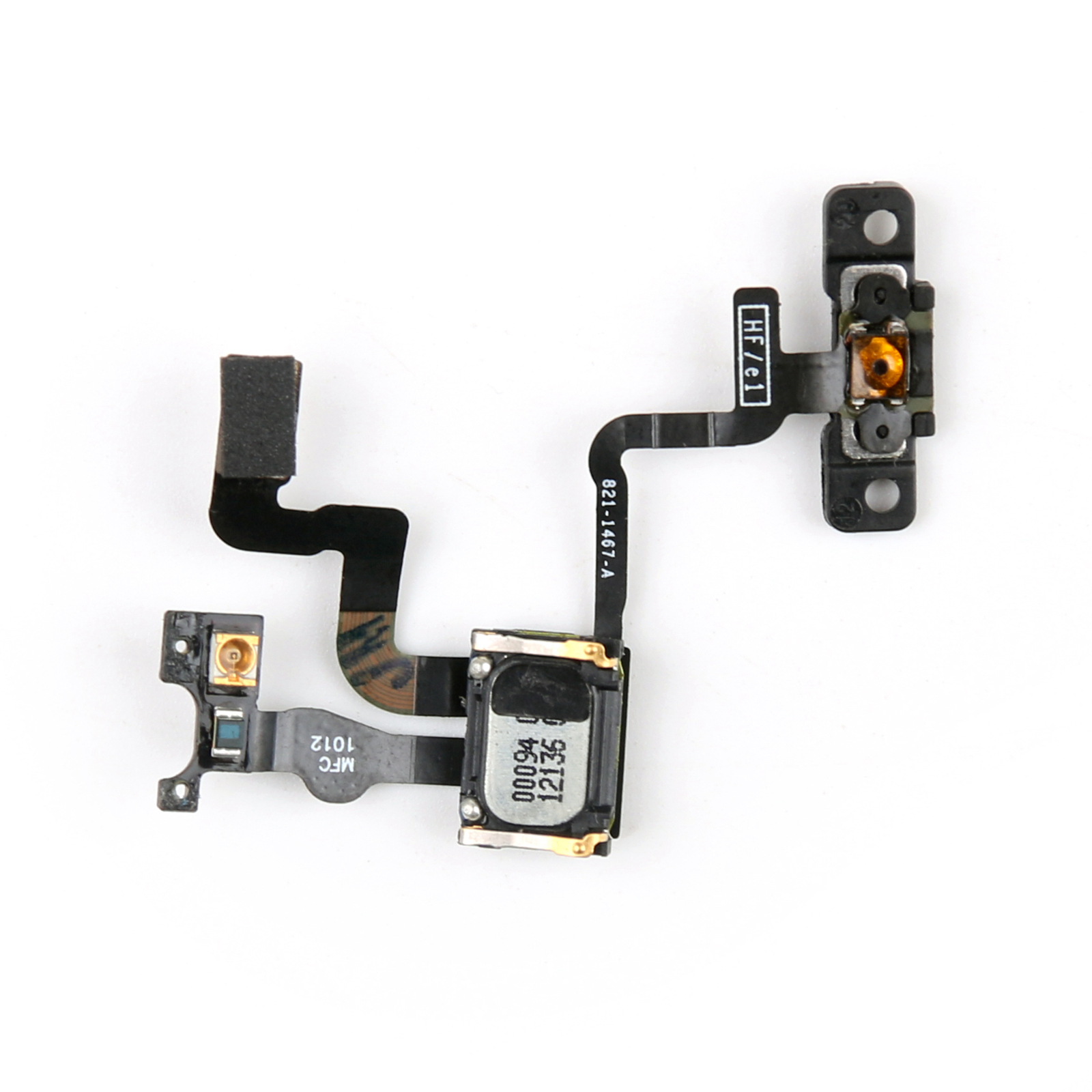 iphone proximity sensor proximity sensor power button flex cable earpiece 12165