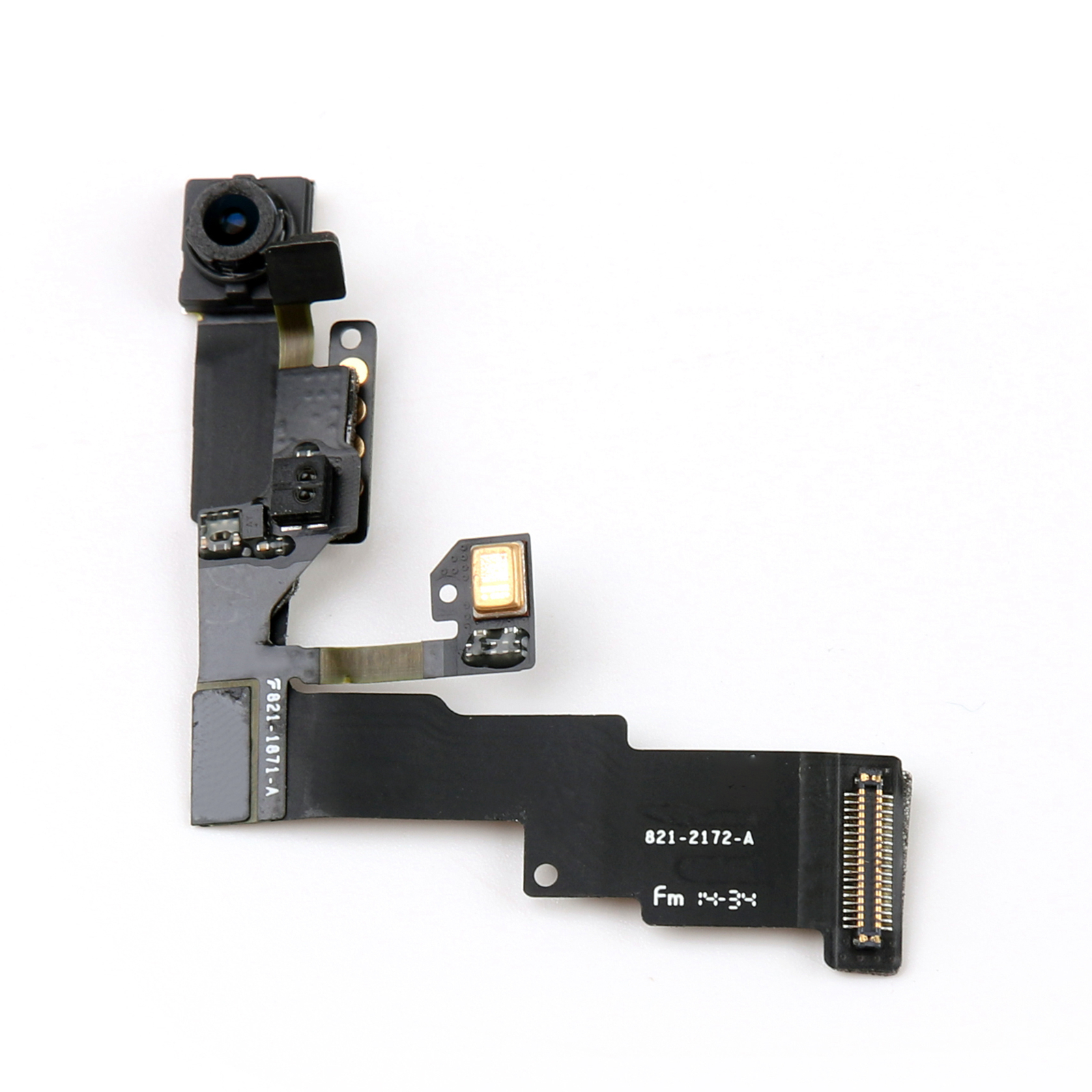 iphone front camera proximity sensor light motion mic flex cable front 11881