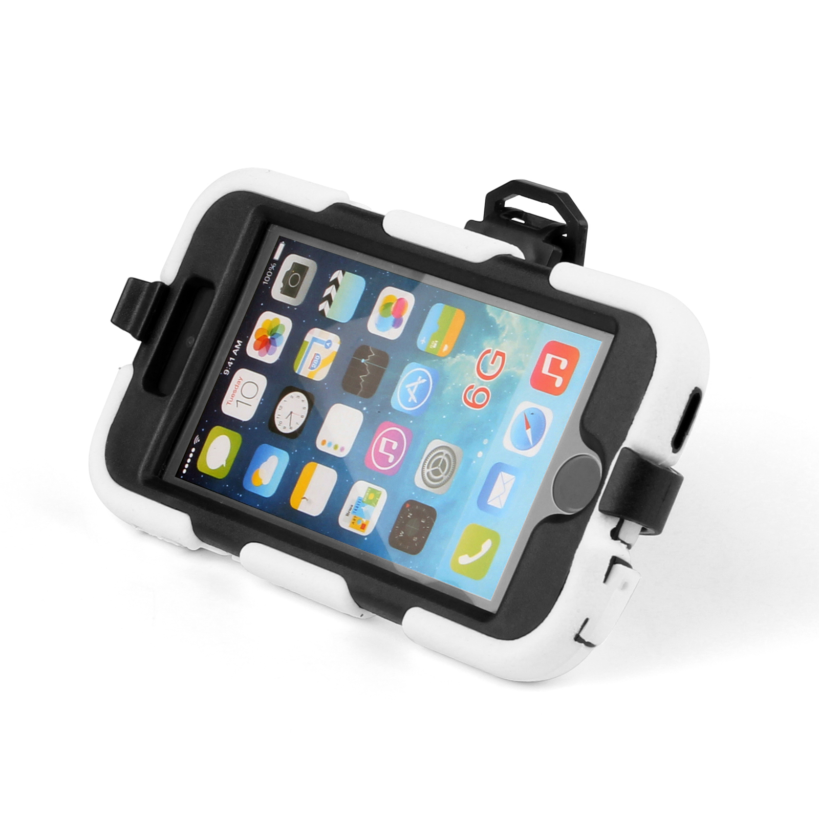 new iphone waterproof new rugged heavy duty waterproof belt clip for iphone 5987