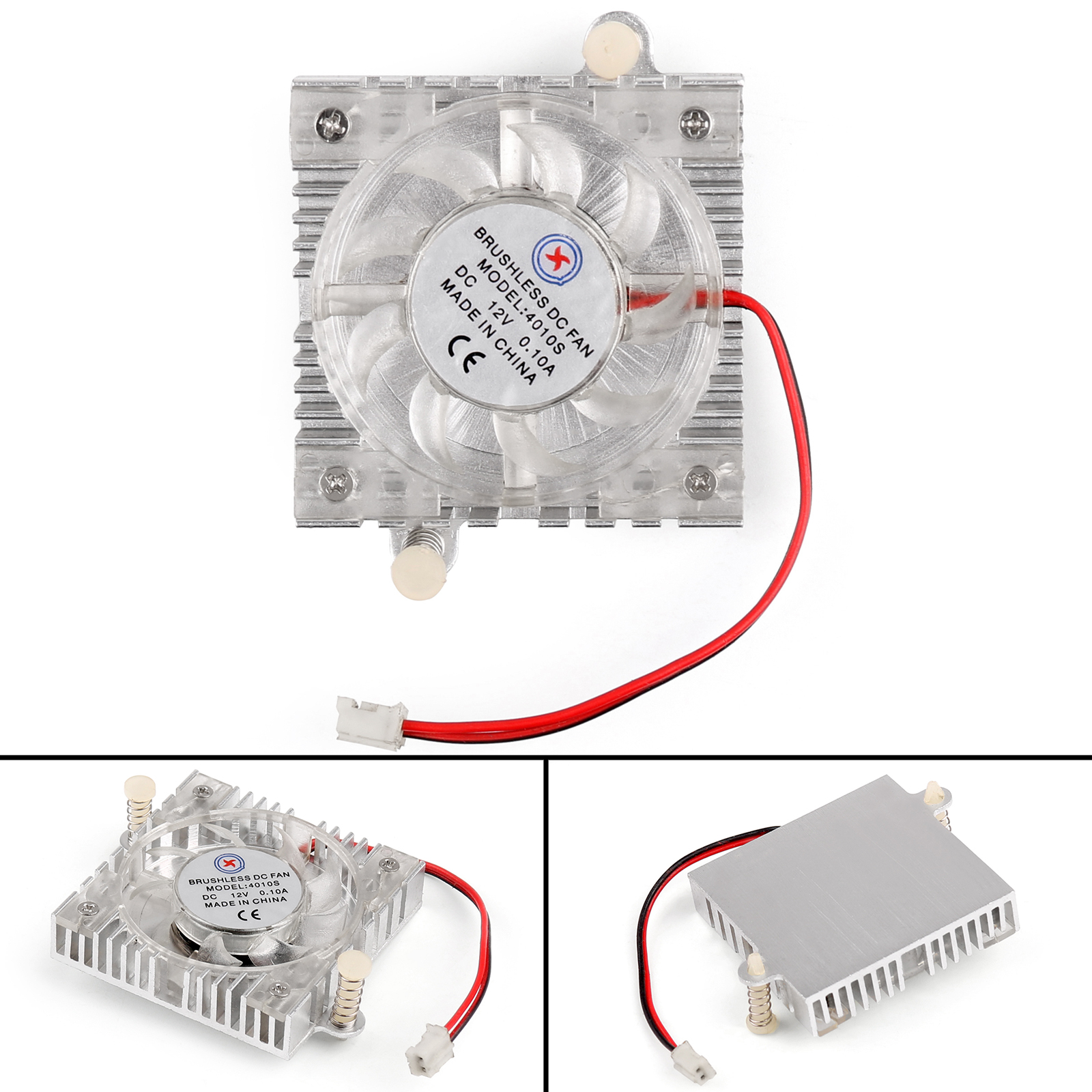 Graphic Card Cooling Cooler Fan 4010S 40x40x10mm 12V 0.1A For PC Computer UE