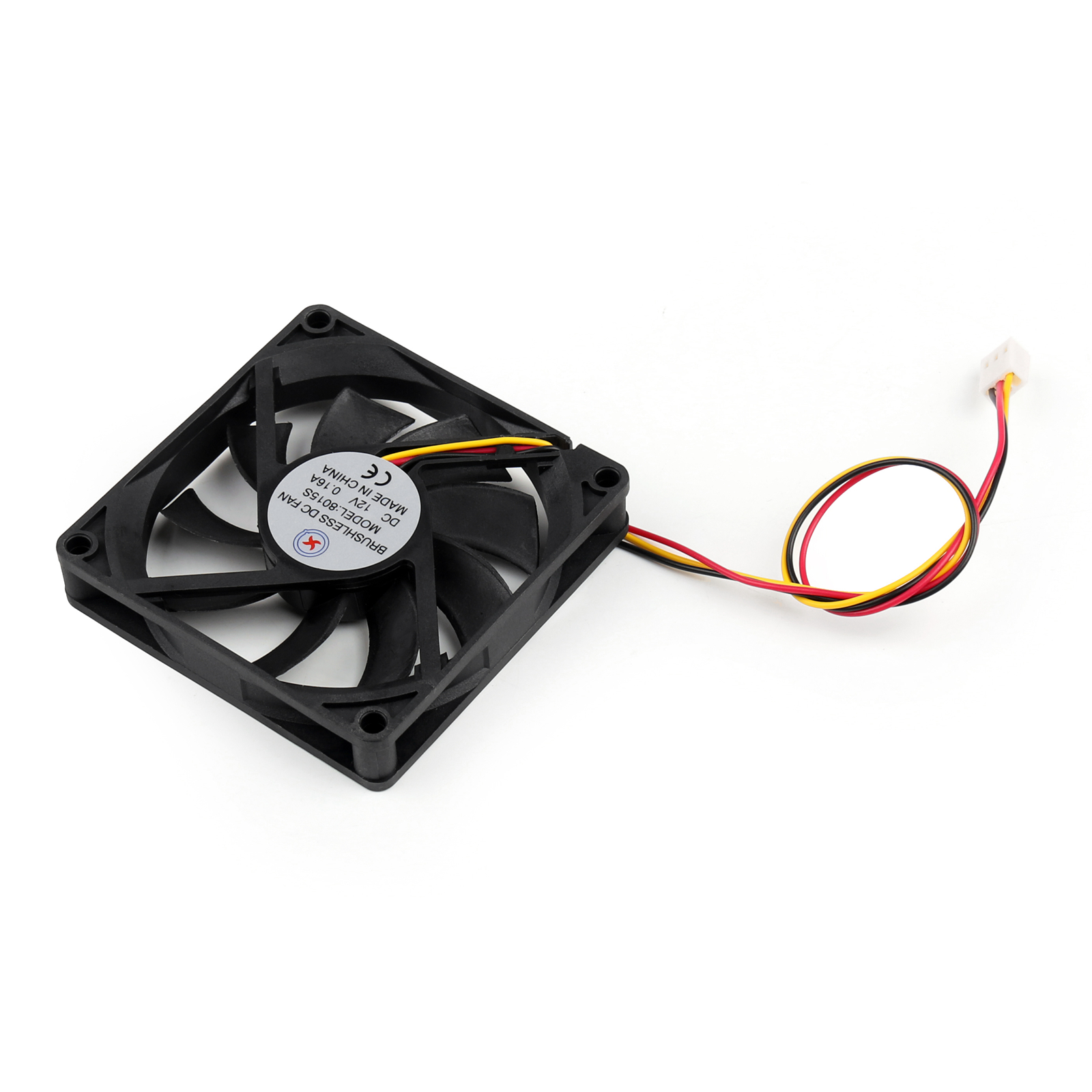 Dc Brushless Cooling Pc Computer Fan 12v 016a 8015s 80x80x15mm 3 Foxconn Wire Diagram Type 2 Size 80x80x15mmlxwxh Volume 4 Connector Pin 5 Bearing Sleeve 6 Operation Voltage