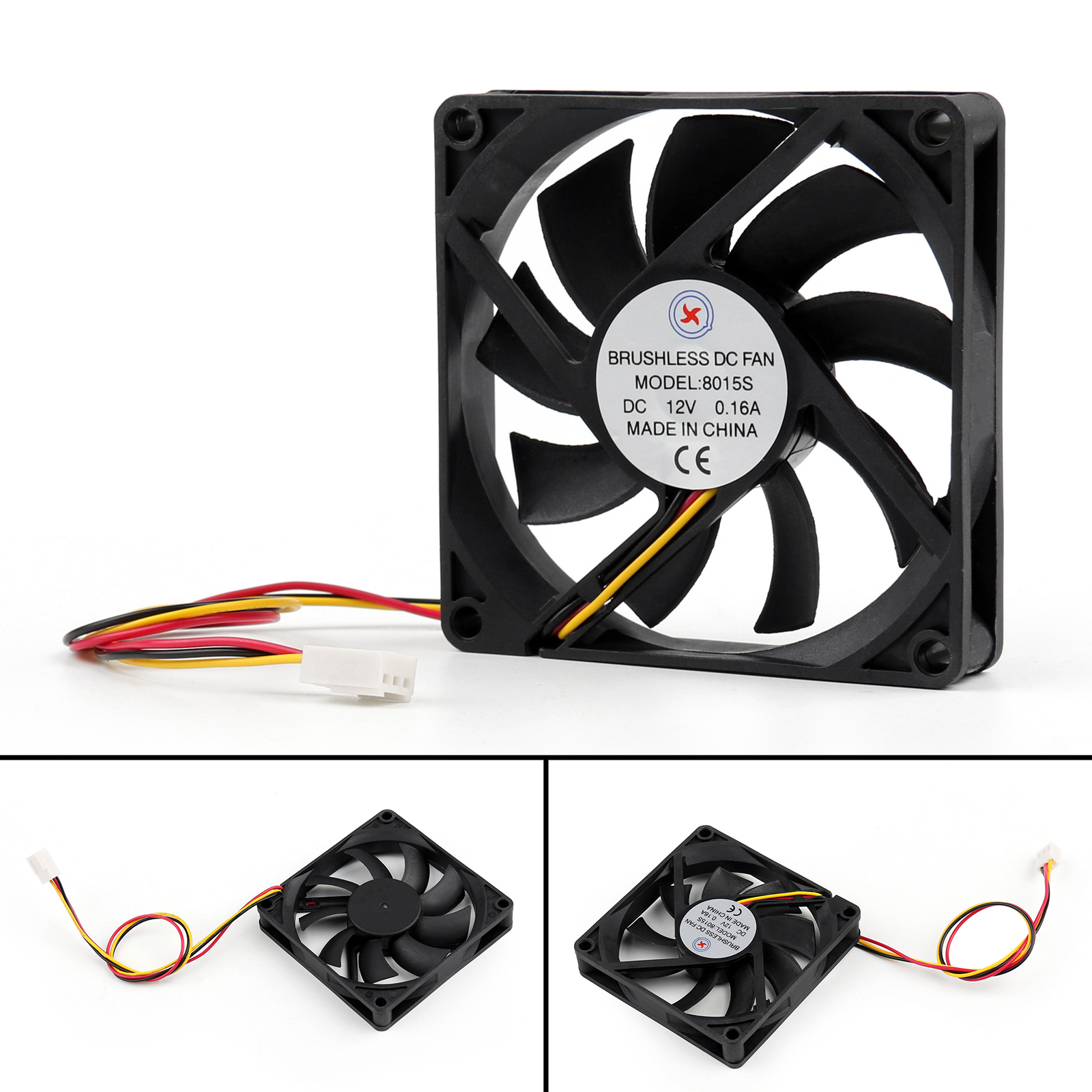 Dc Brushless Fan Replacement : Dc brushless cooling pc computer fan v a s