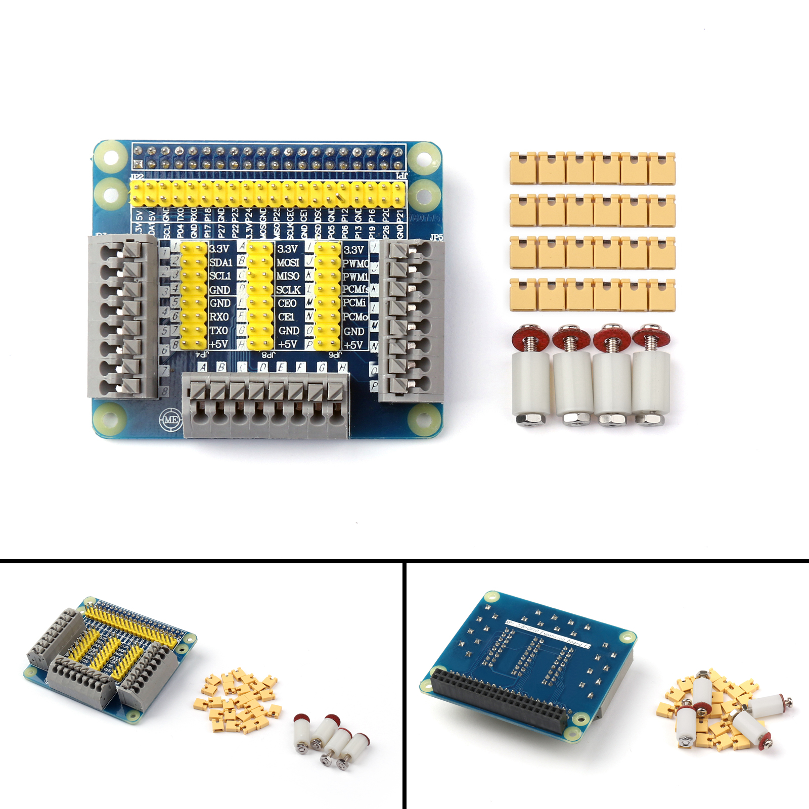 1x Multifunction High Quality GPIO Expansion Board For Raspberry PI 2 3 Model B