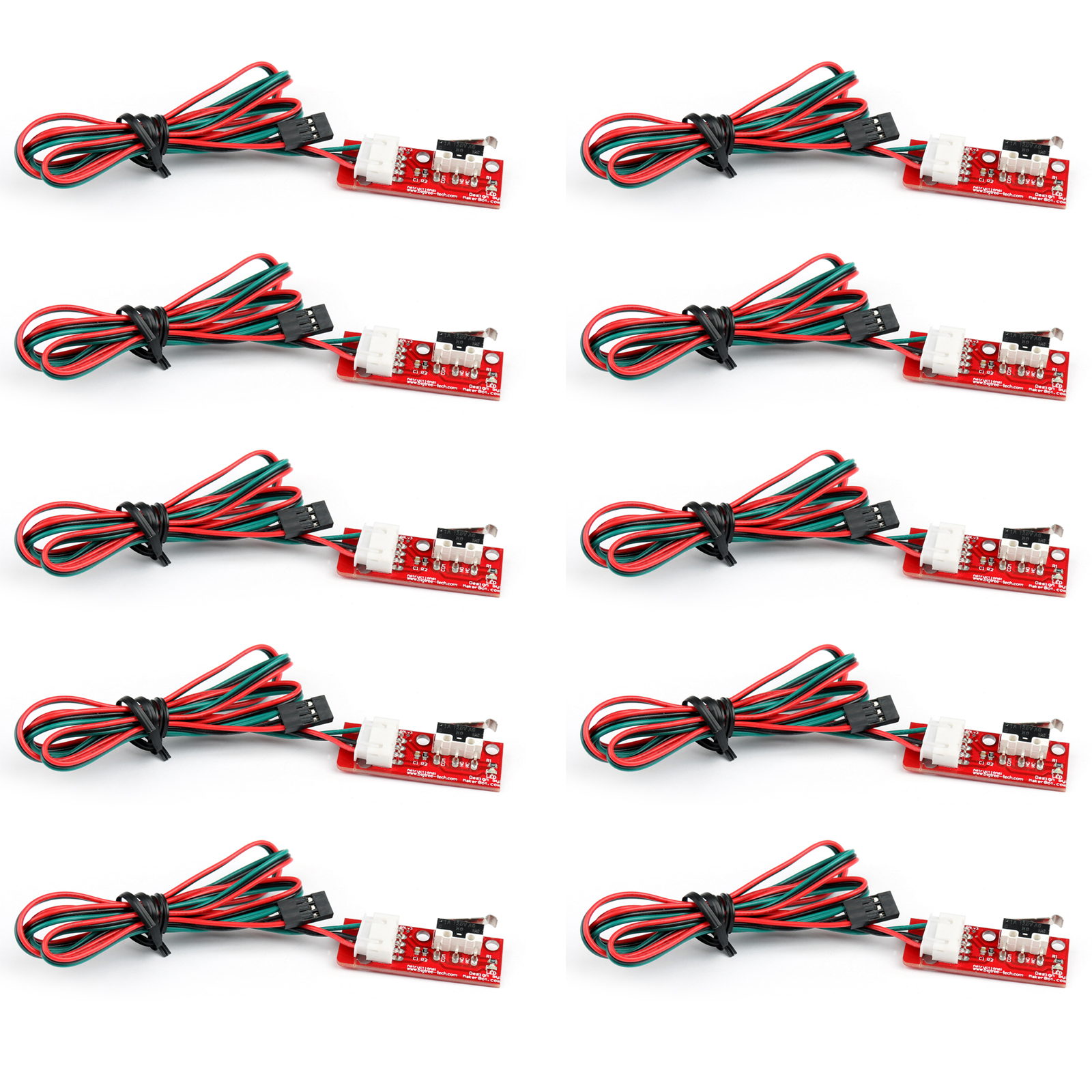 3x Limit endstop mechanical printer switch with 70cm cable for Reprap 3D Drucker