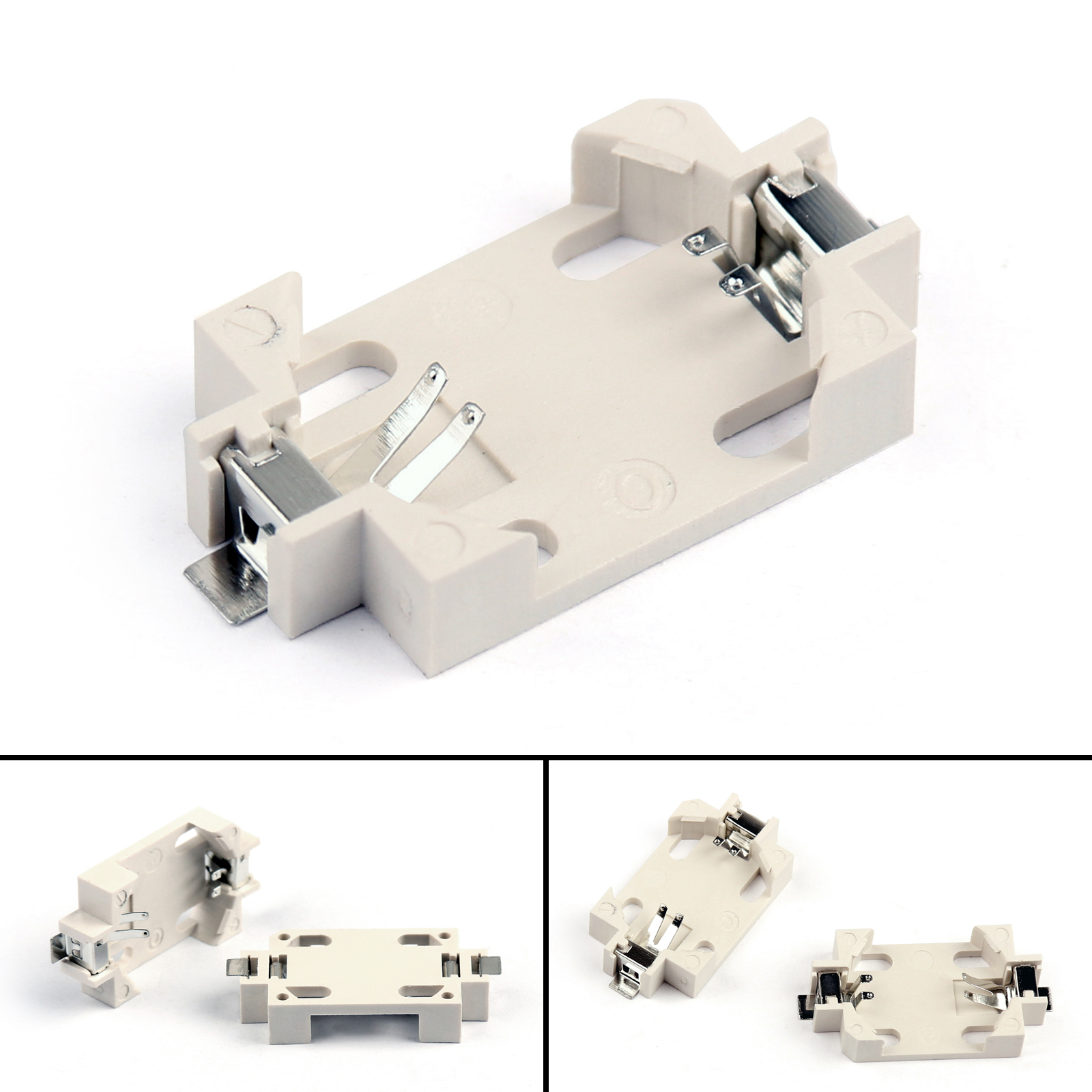 Details about 5Pcs BS-6 Cell CR2032 SMD Battery Holder Case Box Tin Plating  Surface Mount UE