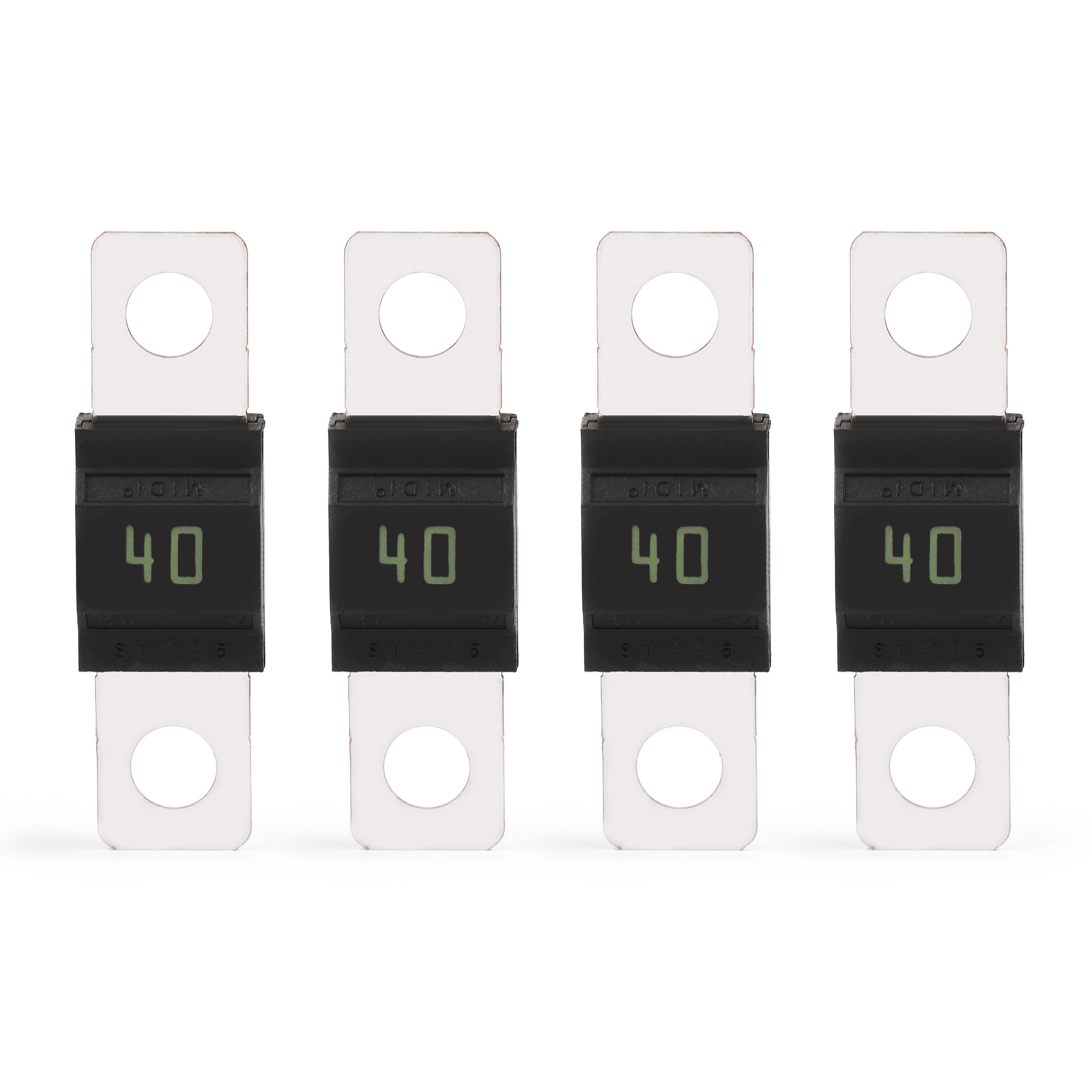 4pcs Midi Bolt Car Fuse Mini Ans Audio Power High Current Fuses Micro Block With Box Lug 100 Brand New And Quality Shape Colour Same As The Picture Show 1 Type 2 For Holder 3 Material Plastic Metal