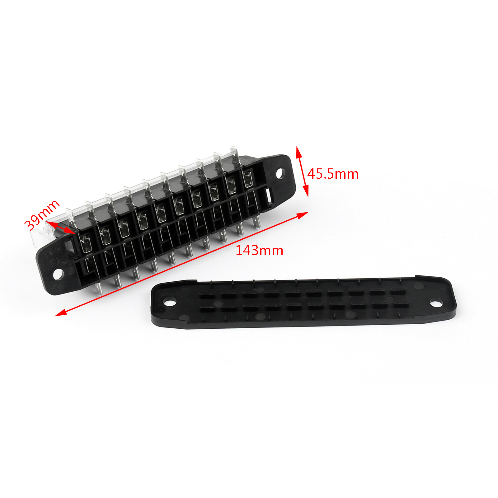 1pcs Car Blade Fuse Box 10 Way Automotive Circuit Protect Types Of Boxes 100 Brand New And High Quality Shape Colour Same As The Picture Show 1 Type 2 For Protection 3 Material Plastic Metal