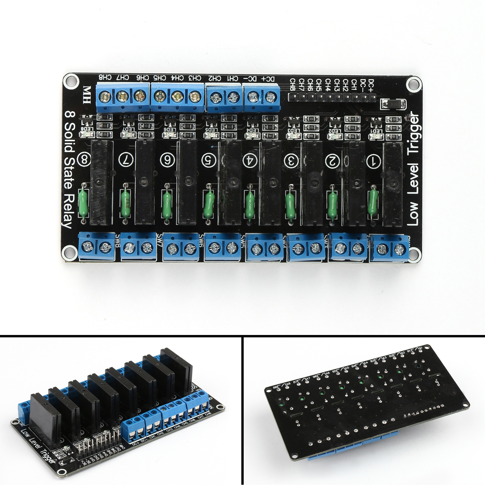 5v 8 Channel Ssr Solid State Relay Module 830 P Breadboard Jump Reprap 100 Brand New And High Quality Shape Same As The Picture Show