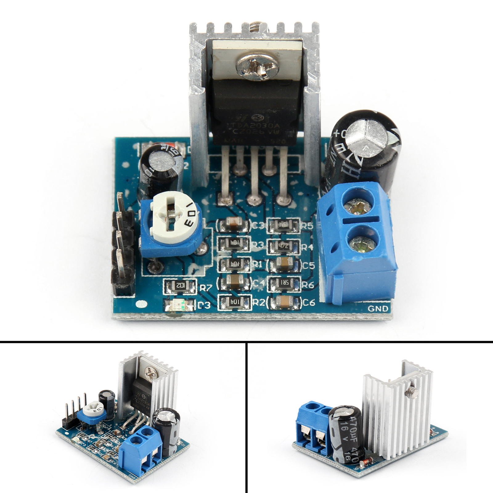 Tda2030a Audio Amplifier Board Module Single Mono 18w 6 12v For Circuit Design Typetda2030a 2 On Chip 3