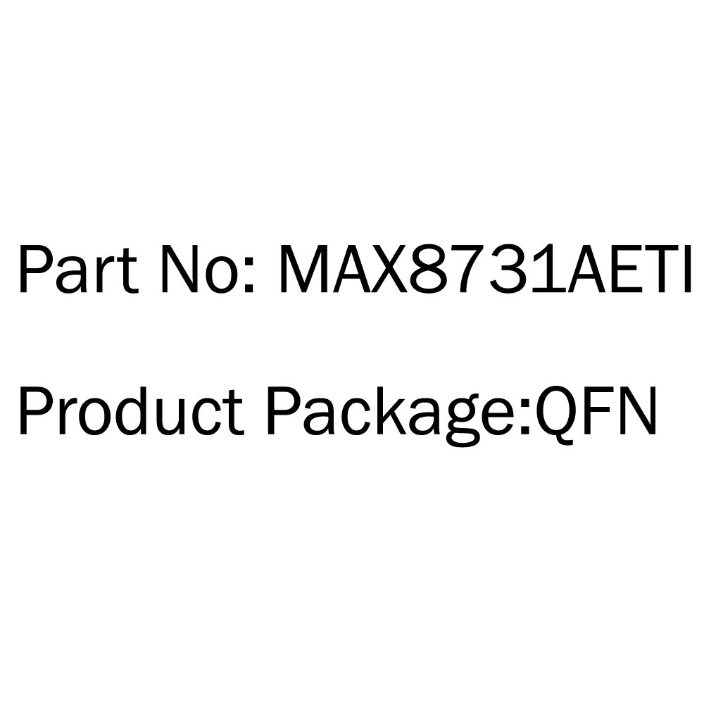 2pcs maxim max8731aeti max8731ae max 8731ae ti qfn ic chip integrated brand new