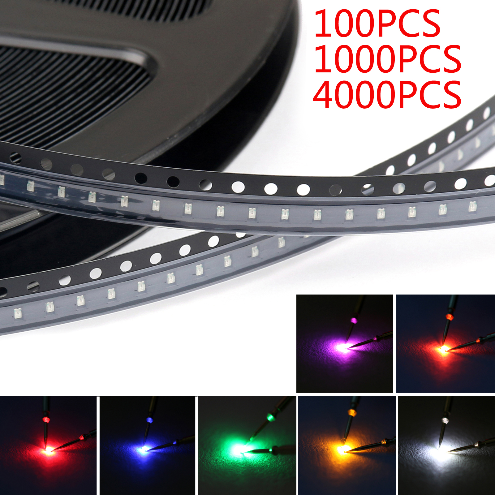 5730 LED SMD SMT Red Green Blue Warm White White 5Colour Light Emitting Diode BS