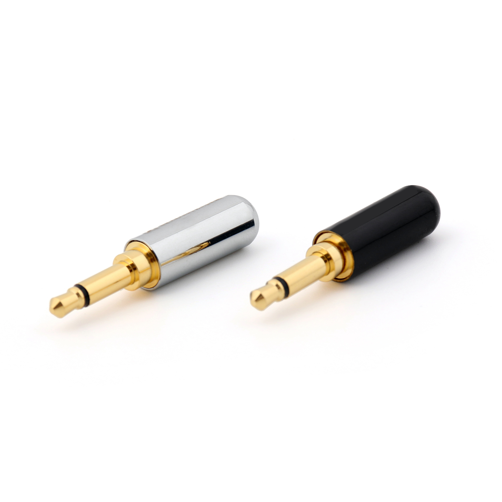 2 Pcs Copper Gold Plated 35mm Mono Mini Jack Plug Soldering Dupon Jumper Wire 20cm 20pcs Mm Ff Mf For Maximum Signal Transfer Durability Male Connection Technology Colorsame As The Picture Show