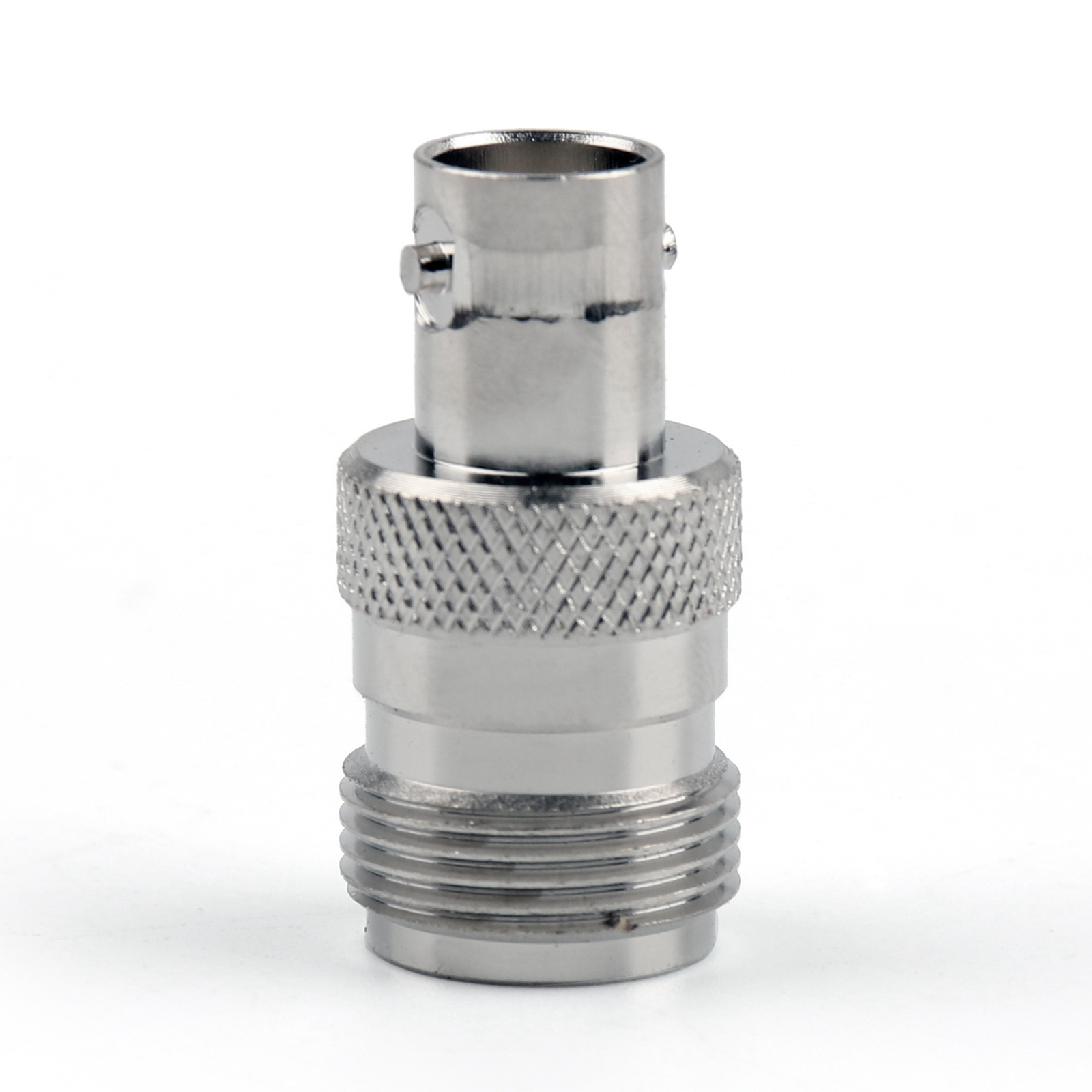 Connector A: N female, Nickel plating. Connector B: BNC female, Nickel plating. Color:Same as the picture show