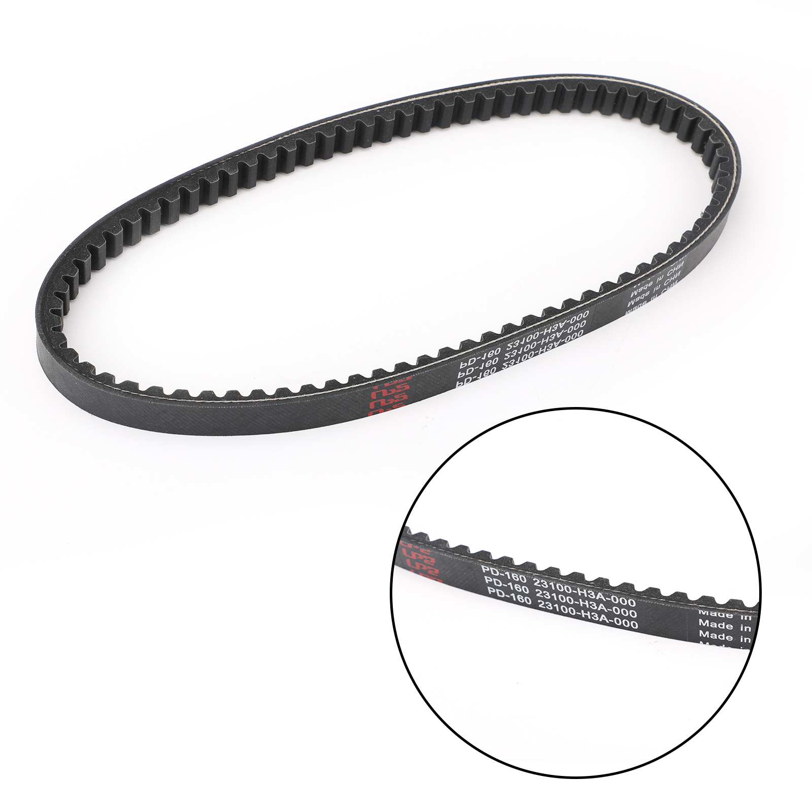Details about Primary Drive Clutch Belt For SYM SHARK 125 150 Euro MX  Scooter 23100-H3A-0000