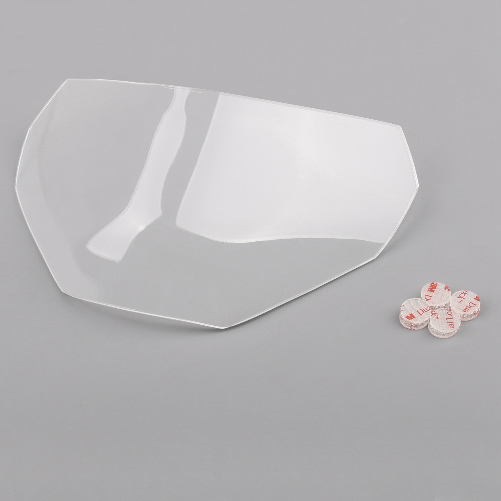Fumee Front Phare Cover Lens Cover Guard Pour Yamaha MT-09 2017-2018