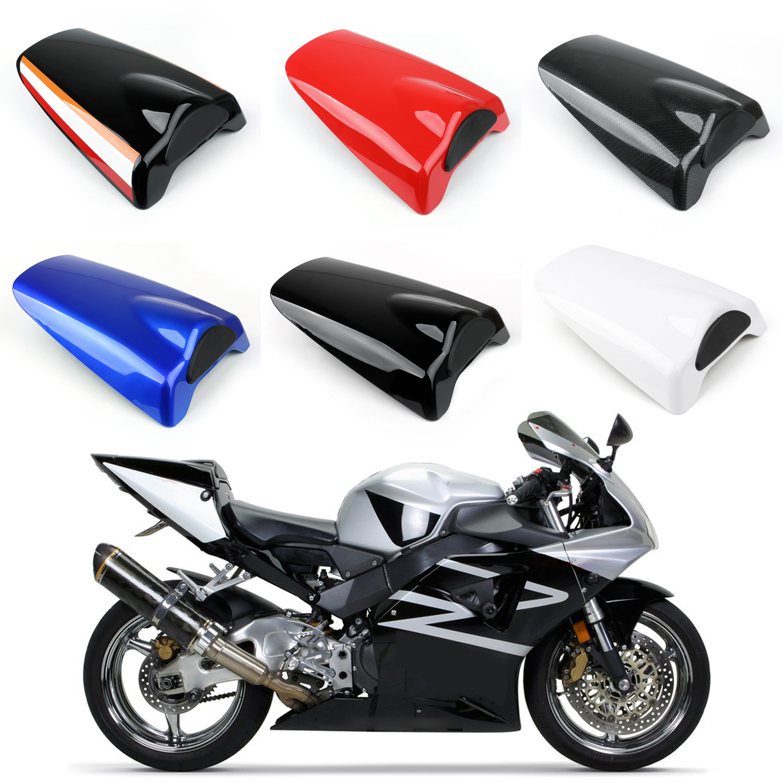 Red Rear Seat Fairing Cover Cowl For CBR954RR 2002-2003