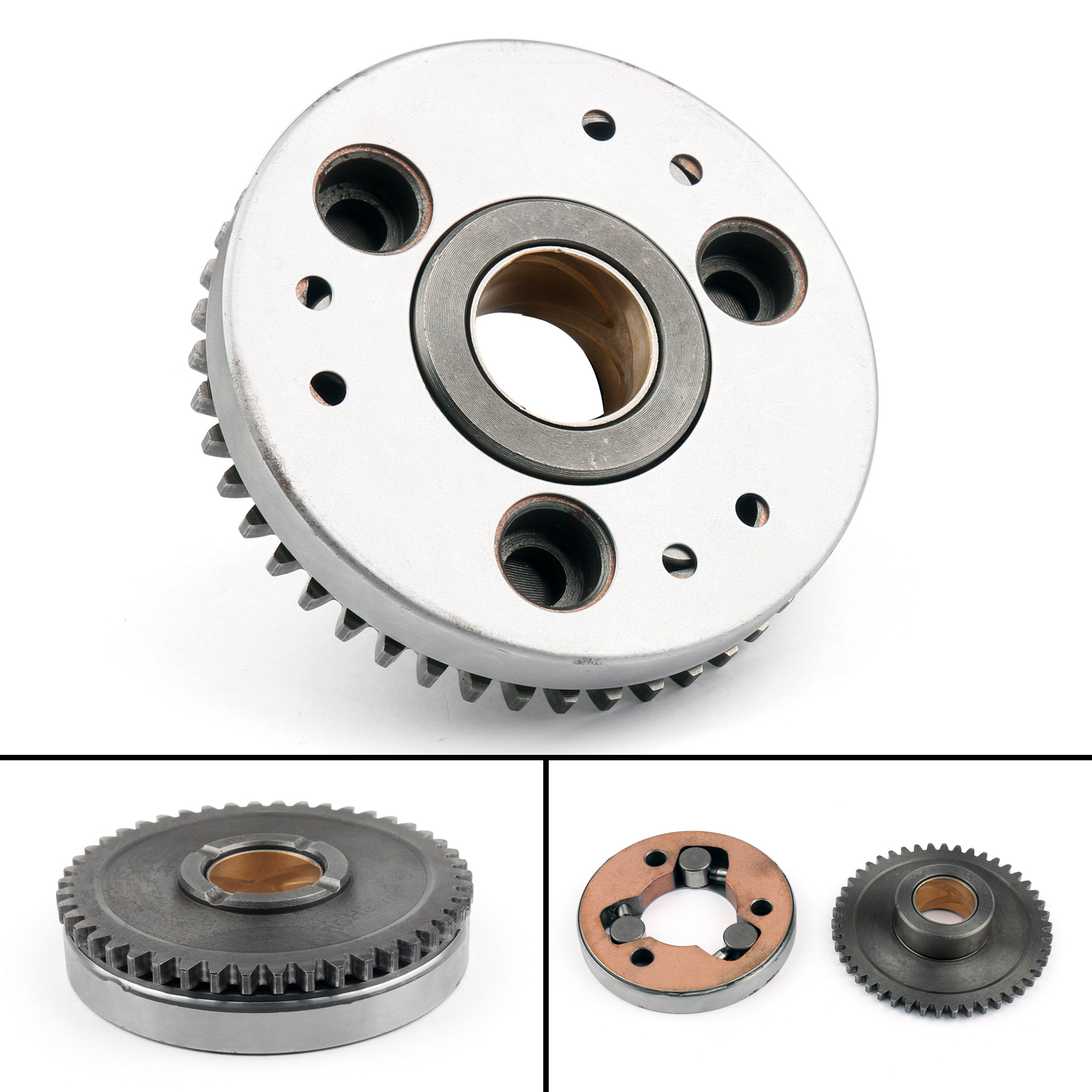 Details about One Way Starter Clutch With Gear 5VL-E5517 For Yamaha YBR125  TTR125E XT125 X/R B