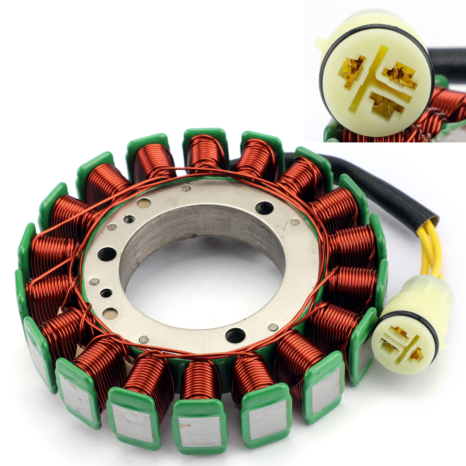 Outboard Stator Battery Charging Coil 18 Poles For Suzuki DF60 DF70 1998-2009 T1