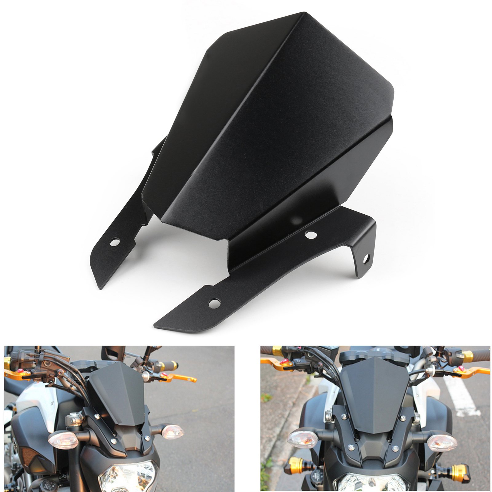 upper headlight top mount cover panel fairing for yamaha. Black Bedroom Furniture Sets. Home Design Ideas