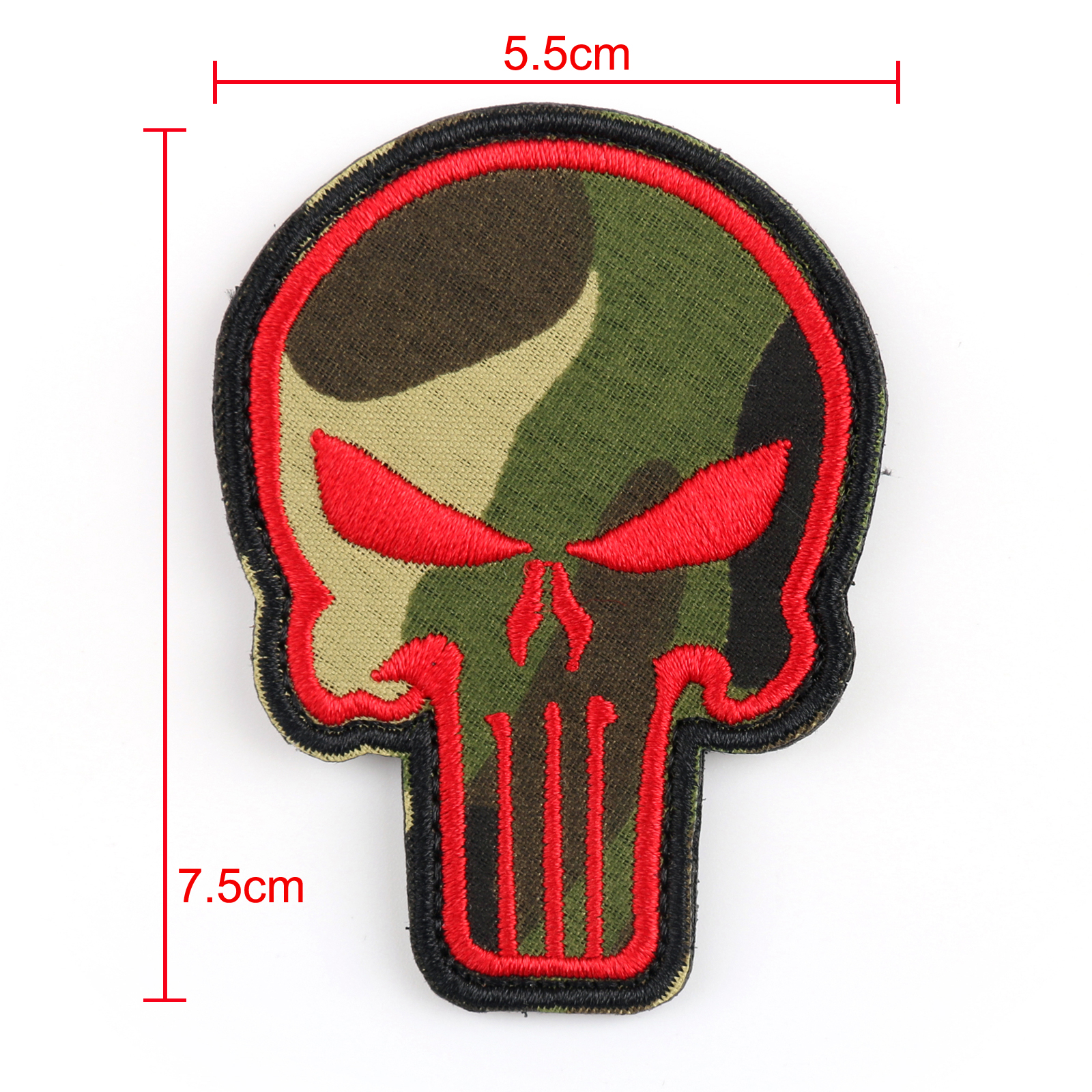 Punisher Skull Patches Usa Army Morale Tactical Badge