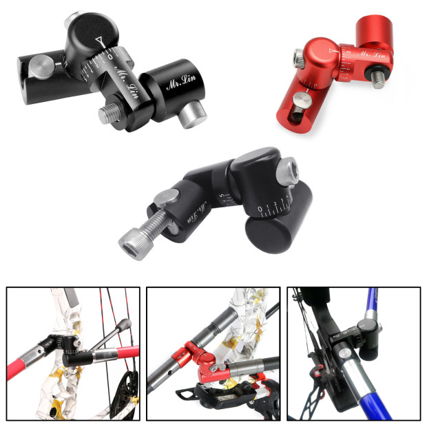 New Adjustable Single Side V-Bar Mount Quick Disconnect for Bow Hunting Archery